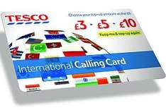 FREE in today's Metro: Up to £8 off Tesco International Calling Card (£3 off £10 or £8 off £20)