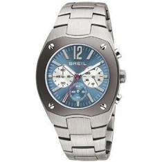 Breil Men's Chronograph Watch with Blue Dial And Bracelet @£40.75 - Amazon
