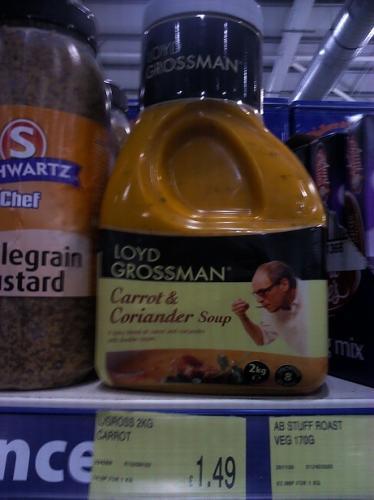 Loyd Grossman Carrot & Coriander Soup (2KG!) - £1.49 @ B&M