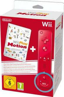 New WII Play Motion + Red Remote Plus - BestBuys £32.97