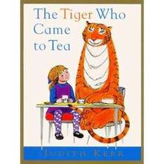 The Tiger Who Came to Tea: Complete & Unabridged (Book & CD) Book only £3.99 delivered @ Waterstones
