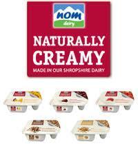 Nom Creamy Yogurts 8 for £2 at Morrisons