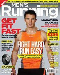 MENS RUNNING Magazine - 5 Issues £5 @ Subscribe Online