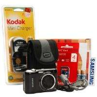 Samsung ES30 12MP Digital Camera (Black) + 4GB SD Card / Case / Charger + batteries £69.98 (£3.99 p&p) From Misco