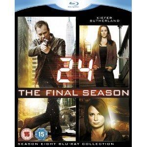 24: Season 8 Blu ray @ Amazon £29.97
