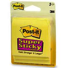 Free Sample of Post-it Super Sticky Notes