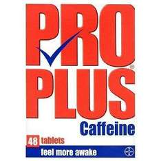 Pro Plus Caffeine 48 Tablets £2.30 delivered at Amazon UK