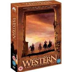 Western Collection (Gunfight at the OK Corral, Once Upon A Time in the West, True Grit, The Sons of Katie Elder) [DVD £7.49 @ Amazon and Play]