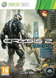 Crysis 2 XBOX 360 Limited Edition £25 @ ASDA (Instore)