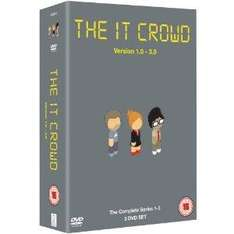 The IT Crowd Seasons 1 - 3 boxset £5 instore also steven seagal collection £5 @ Sainsburys