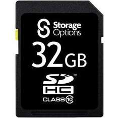 Class 10 32GB SD card, £35.59 from Lowpricememory @ Amazon