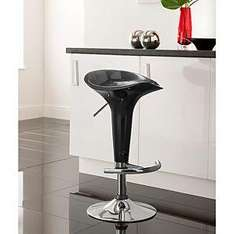 Matrix Bar Stool - Black, silver or red RRP £50, NOW ONLY £29 at ASDA