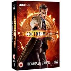Doctor Who Complete Specials DVD Boxset £11.99 @ bee.com