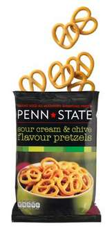 Penn-State Sour Cream & Chive/Original/Sweet & Spicy Pretzels 175g Bag just 69p! @ Waitrose Instore/Online
