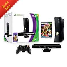 Xbox 360 4GB Console with Kinect Sensor Pack £189 @ Asda Direct (Collect In-Store or Delivery)