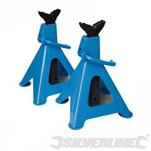 Silverline 3 Tonne 2 Piece Axle Stand Set £11.02 @ Amazon