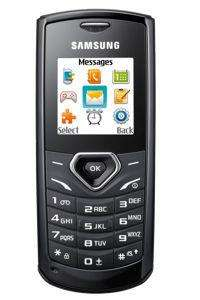 Orange Samsung E1170 Mobile Phone - Black. Argos £4.99