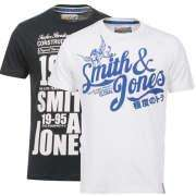 2x Smith and Jones T-shirts £9.99 @The Hut (Plus 7.5% Quidco)