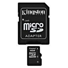 £4.31 For a 4GB Micro SD card AND Adapter, on Amazon Marketplace - Sold by IJT Direct