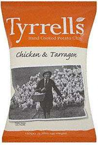 Tyrrells Chicken & Tarragon Potato Chips (150g) was £1.79 now BOGOF @ Sainsburys