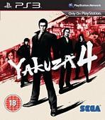 Yakuza 4 PS3 £16.99 instore at Game