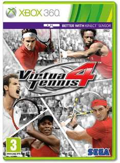 Virtua Tennis 4 - £22.99 (Xbox 360/PS3), £19.99 (Wii) Delivered @ Game / Gamestation