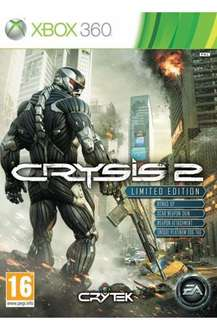 Crysis 2 on ps3/360 £25 new / £22 used instore granger games