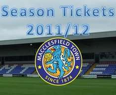 Macclesfield Town's Early Bird Season Ticket £50 for U18 and Students. Under 12's Free!