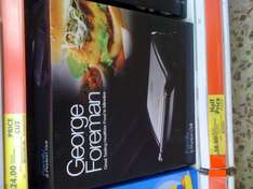 George Foreman - Family 5 Portion Grill - Half Price £30.00 Instore @ Tesco Sunbury