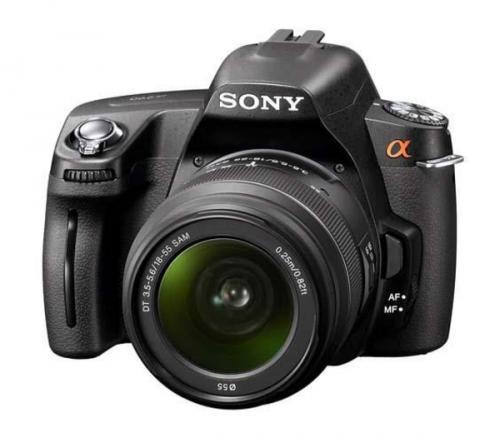 Sony Alpha DSLR-A290L Digital SLR Camera + 18-55mm Zoom Lens - Currys - £263!