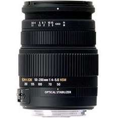 Sigma 50-200mm f4-5.6 DC OS HSM Nikon or Canon Fit £99.99 collected instore or +PnP for delivery @ Jacobs Digital