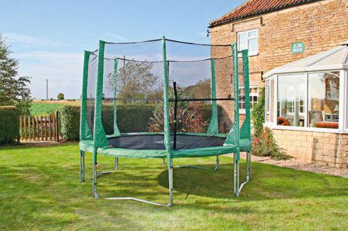 8ft Trampoline enclosure safety net  from Argos outlet on ebay 29.98 delivered!