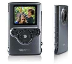 KODAK Mini Pocket Camcorder - Grey £17.30 to pay instore @currys/pcworld reserve and collect BLUE CROSS SALE ITEM
