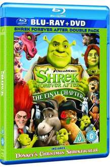 Shrek Forever After DvD+Blu Ray Combi £7.99 @ ShopTo