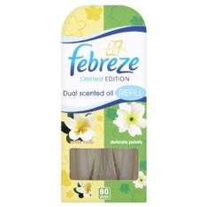 Pack of 3 Febreze White Floral Air Freshener Plug in Refills now £2.98 del @ Amazon