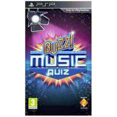 Buzz! The Ultimate Music Quiz (PSP) - £10.00 @ HMV (Instore)