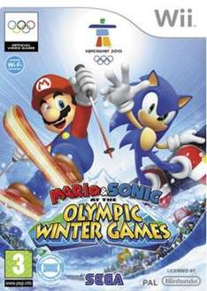 Mario & Sonic at the Olympic Winter Games (Wii) - £12.99 @ Amazon
