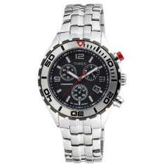 Timex Mens SL Series Chronograph stainless steel Bracelet £44 @ Amazon using £10 off code SUMMER11