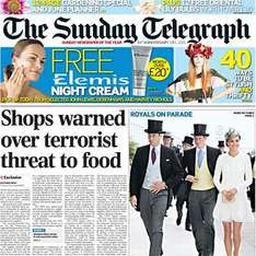 Sunday newspaper offers - see post - Telegraph/ Express/ Star/ Mail/ Mirror/ NOTW