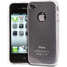 iPhone 4 Clear Gel Silicone Protective Case Cover + Screen Protector Kit @ Amazon