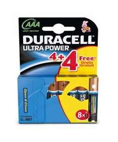Ducacell Ultra Power AAA and AA Batteries - £4.50 for 16 (28.5p per Battery) - Instore @ Waitrose