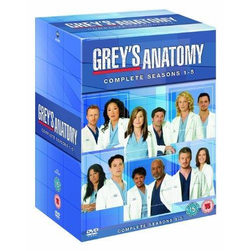 Grey's Anatomy Season 1-5 [DVD] £39.97 @ Amazon