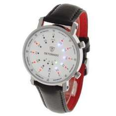 Detomaso Gents Watch Spacy Timeline Round Silver/White/Leather G-30730-S £39.80 @ Amazon