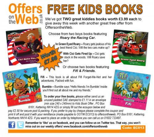 Kids books (£2.50 p&p) @ OffersOnTheWeb