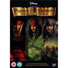 Pirates Of The Caribbean Trilogy DVD only £8.99 delivered @ Play.com