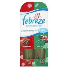 Febreze Apple Spice Air Freshener Plug In Refill (Pack of 3) £3.11  or £2.80 with subscribe and save @ Amazon