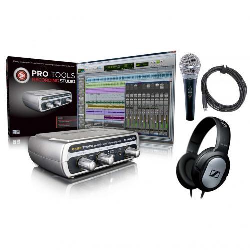 Digital Village - M-Audio Pro Tools Recording Studio Bundle - £90.95 !!! @ DV247