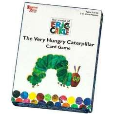 Very Hungry Caterpillar Card Game £2.19 at Amazon