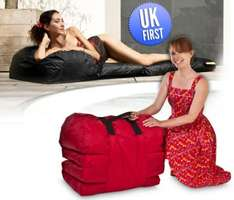 Smooff - Cushion sun Lounger Folding Mattress £67.99 @ IWOOT