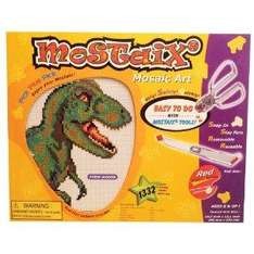 Mostaix Red Ribbon Series Dinosaur (T Rex) Mosaic Art Set  now £2.73 del @ Amazon